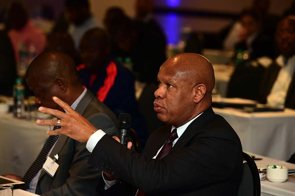 MNS Chairman Mncedisi Ndlovu